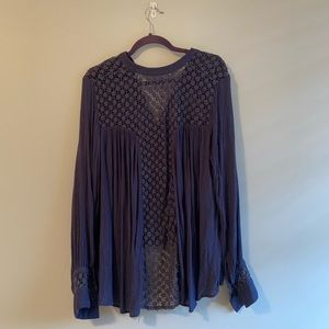Free People Tops - Free People Button Down Long Sleeve Top